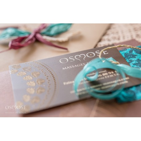 Chèque cadeau Massage au Cabinet Osmose